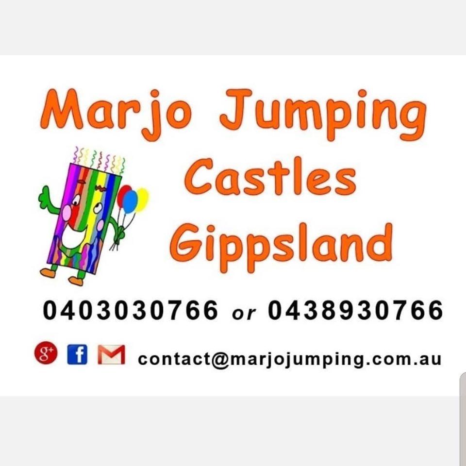 Marjo Jumping Castles Logo