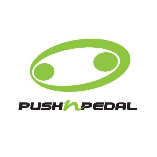 push n pedal cycles logo