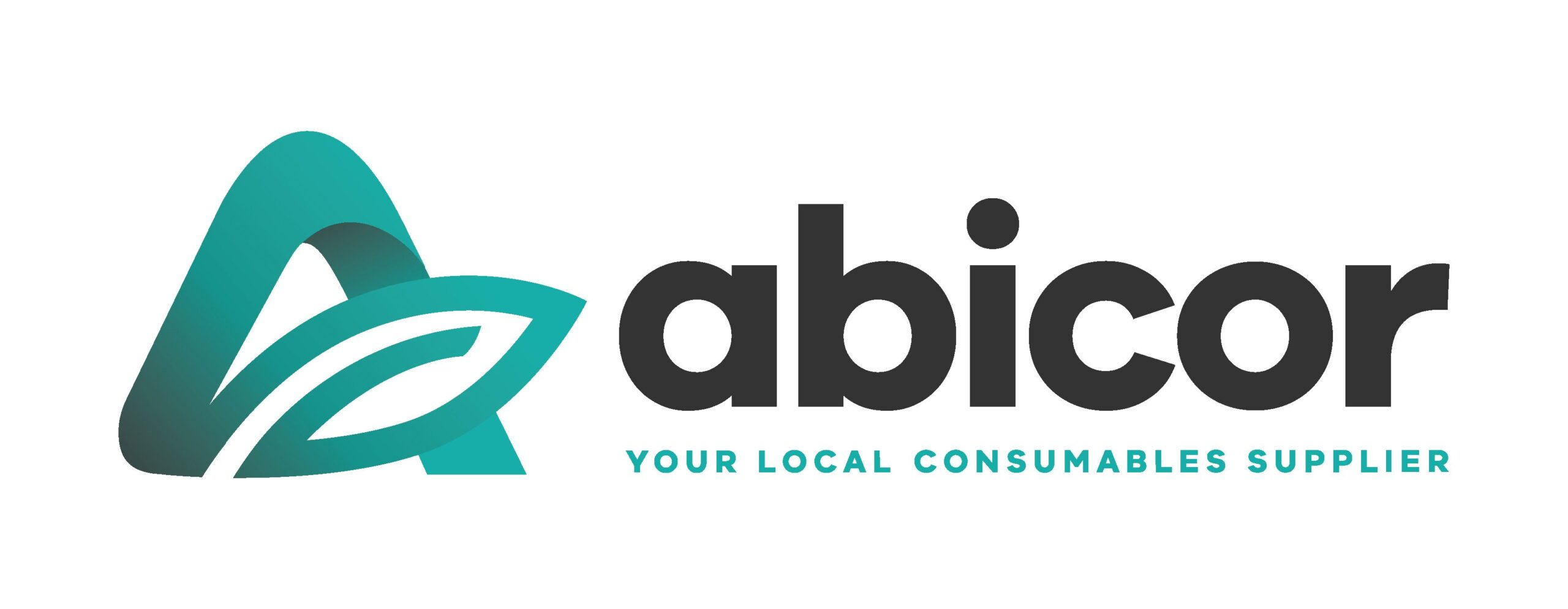 Abicor Logo White